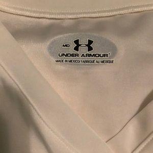 LS white UA undershirt